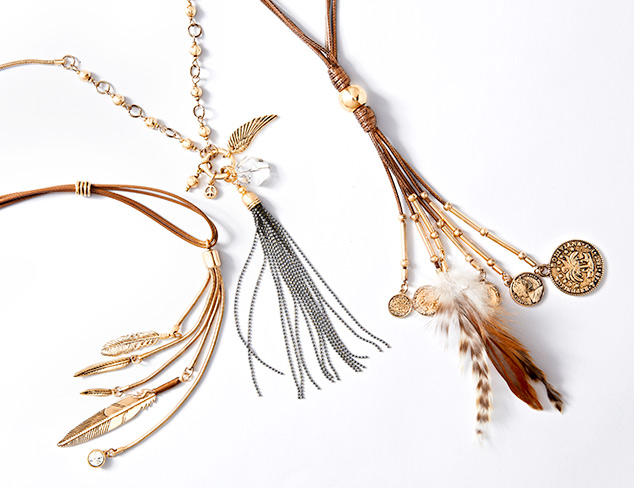 Trend to Try: Tassel Jewelry at MYHABIT