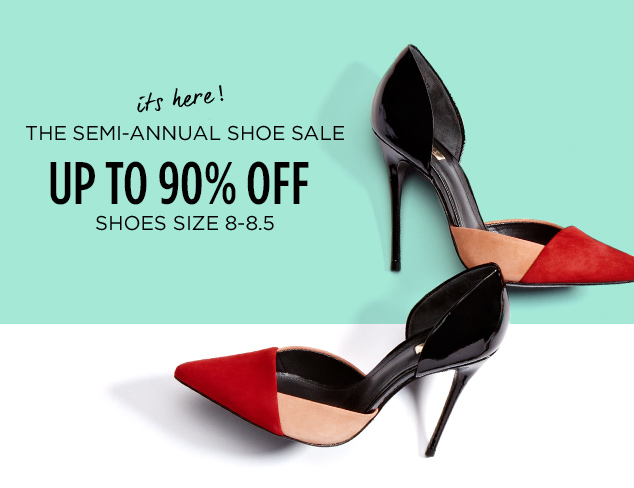Up to 90% Off: Shoes Size 8-8.5 at MYHABIT