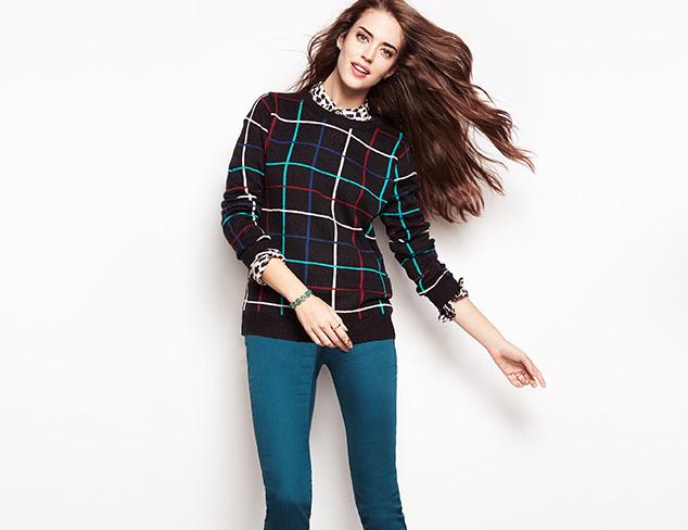 Weekend Style: Sweaters & Denim at MYHABIT