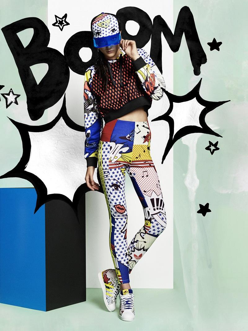 adidas Original x Rita Ora Pop Art Inspired Spring Collection_5