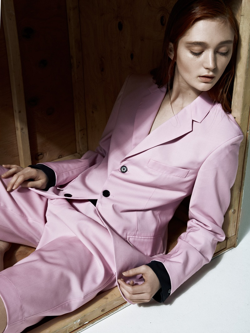 3.1 Phillip Lim Begonia Pink Three-Button Blazer