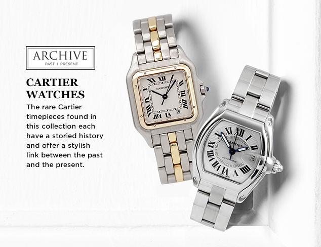 ARCHIVE: Cartier Watches for Her at MYHABIT