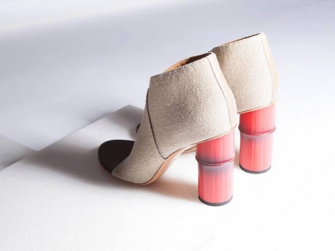 Acne Studios Roza Bamboo Heeled Boot