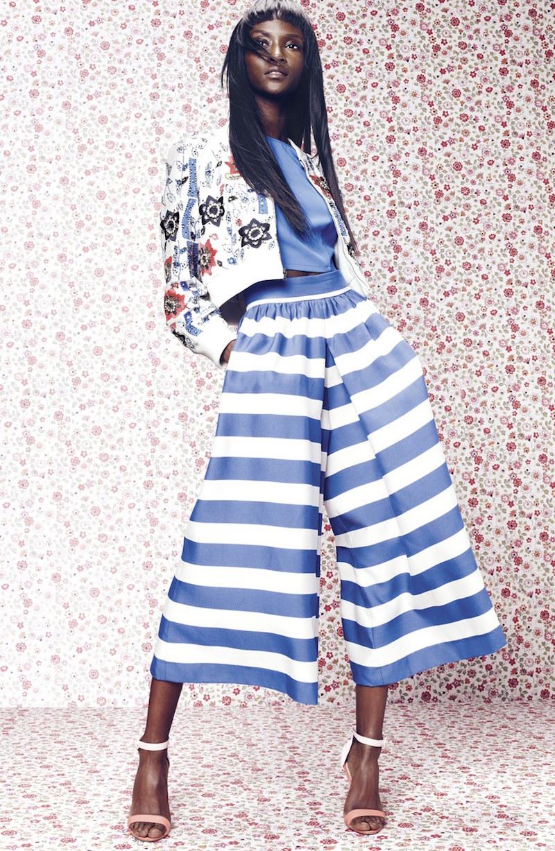 Alice + Olivia Bead Embroidered Silk Crop Jacket