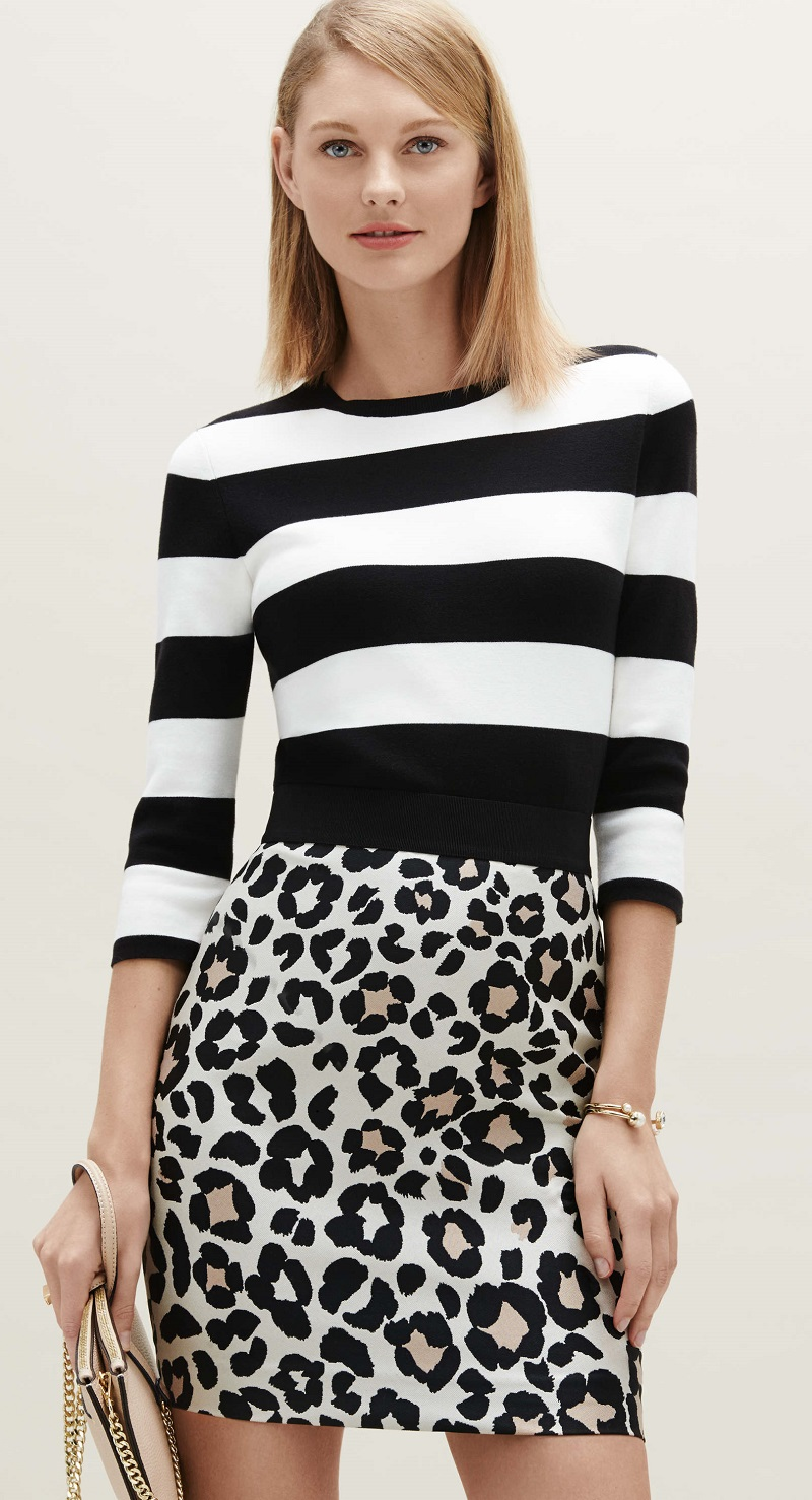 Ann Taylor Graphic Sweater