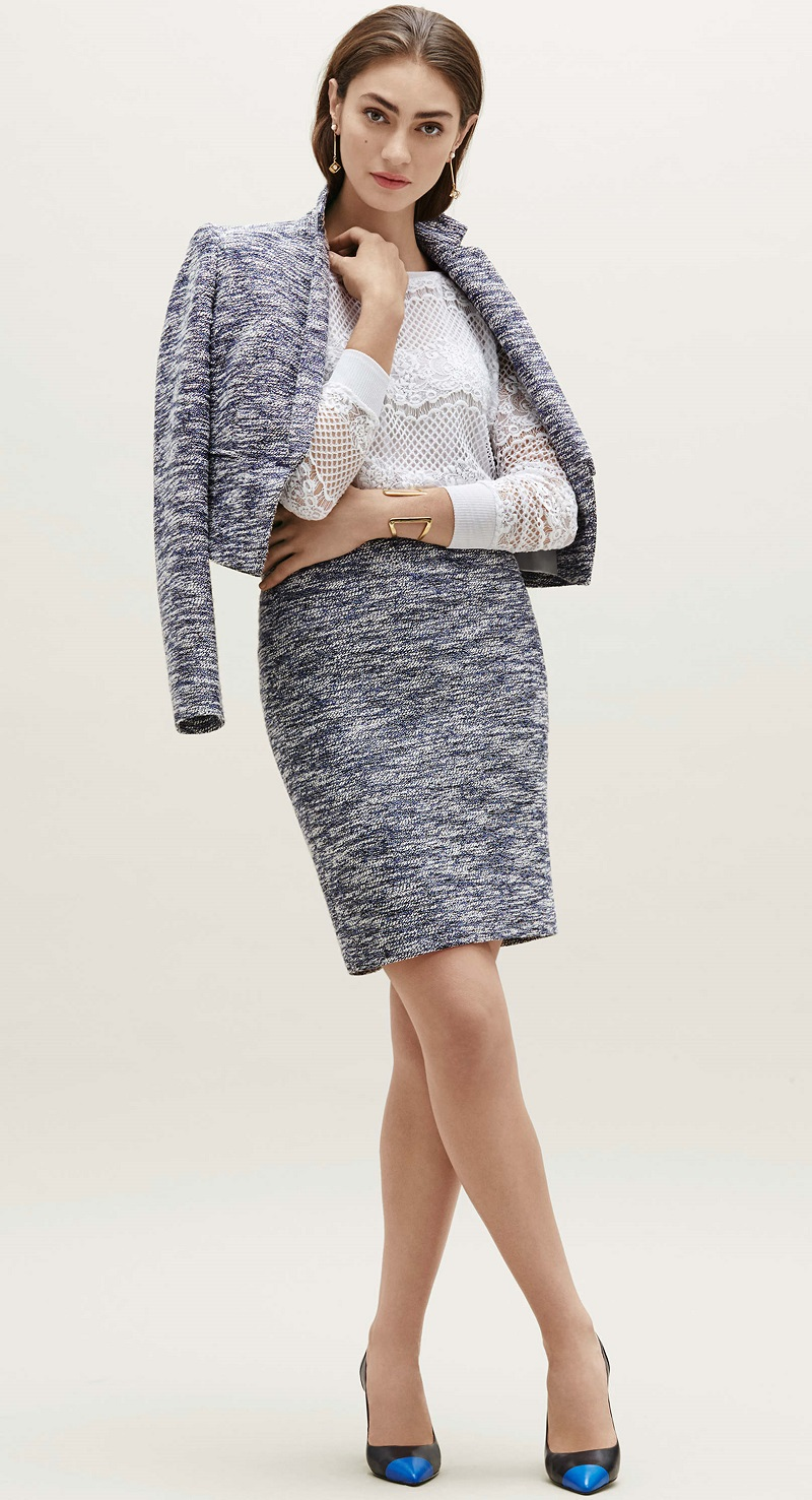 Ann Taylor Tweed Suit Jackets