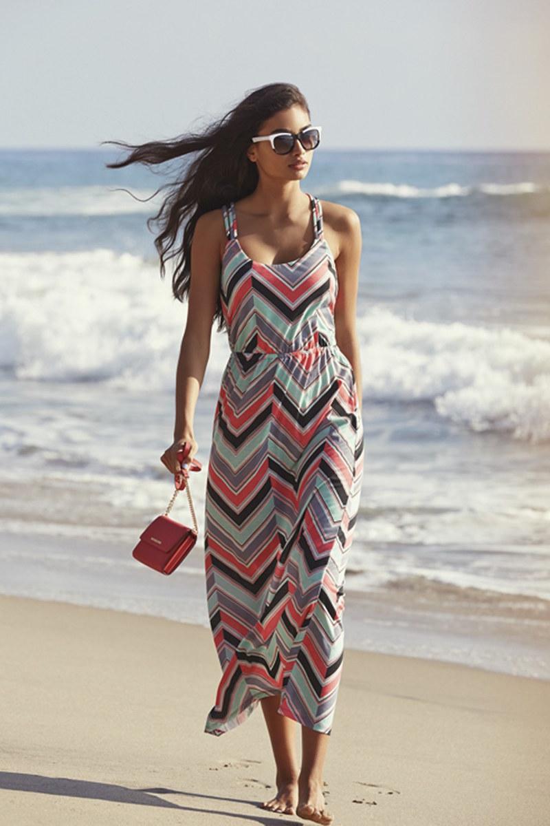 BCA Print Maxi Dress