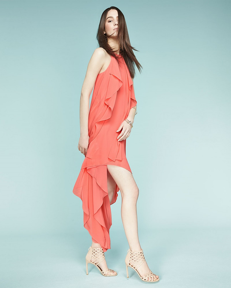 BCBGMAXAZRIA Kelsia High-Low Cocktail Dress