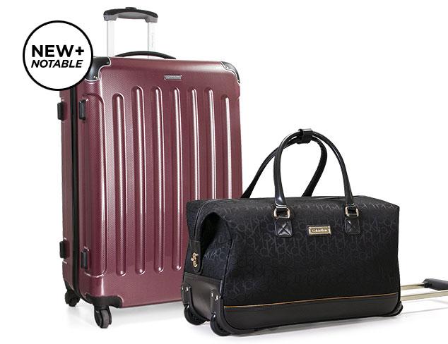 Calvin Klein Luggage at MYHABIT