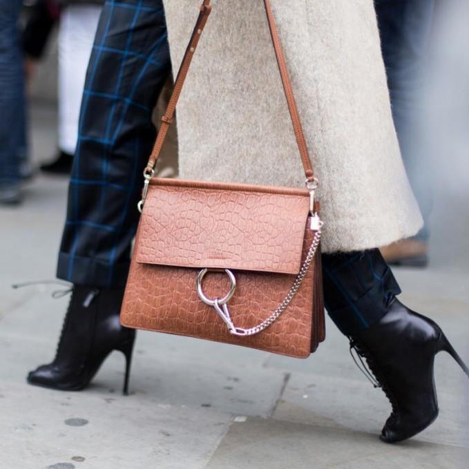 Chlo¨¦ Faye Leather Shoulder Bag \u2013 NAWO