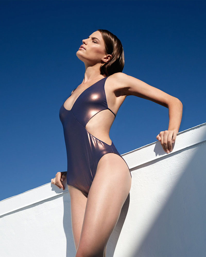 Clube Bossa Collins Cutout-Side Tie One-Piece