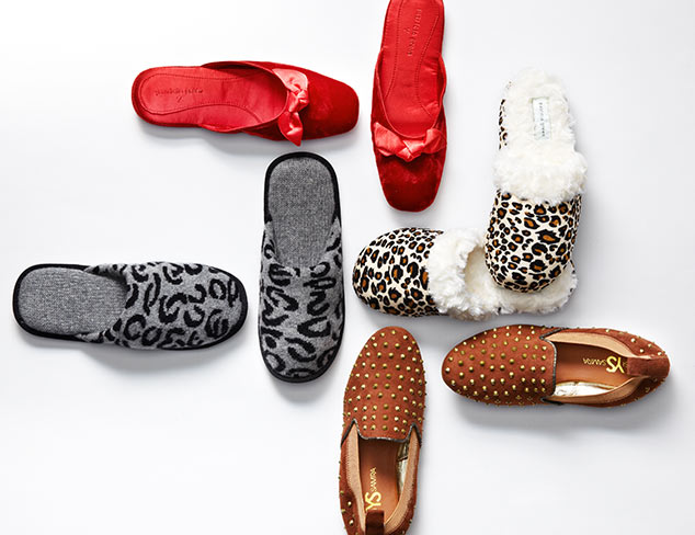 Cozy Up: Slippers at MYHABIT