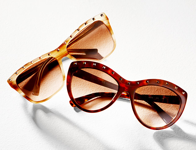 Designer Sunglasses feat. Valentino at MYHABIT