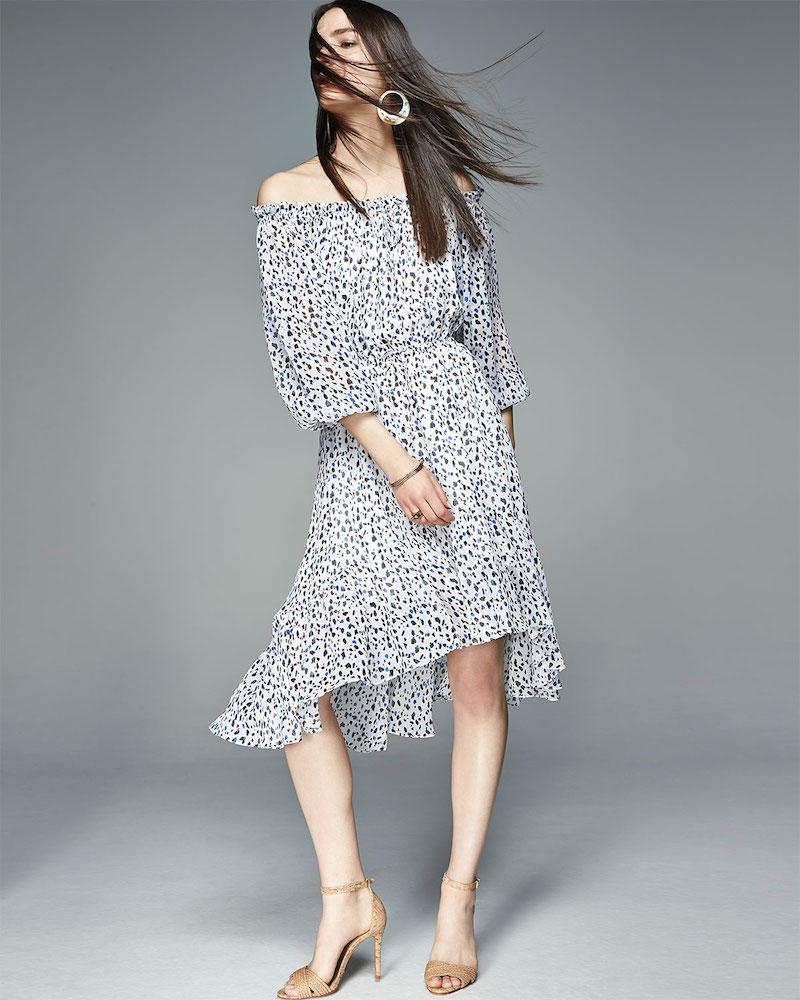 Diane Von Furstenberg Camila Animal-Print Silk Dress