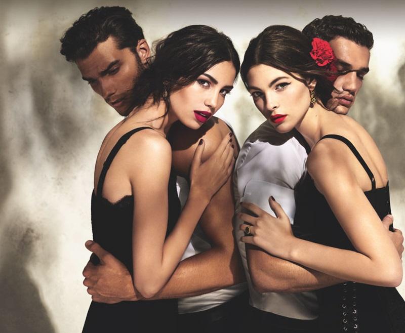 Dolce & Gabbana Dolce Matte Lipstick AD Campaign_1