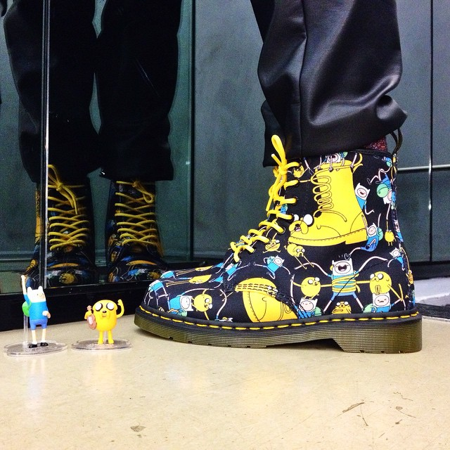 Dr. Martens x Adventure Time Limited Edition Collection Boots_2