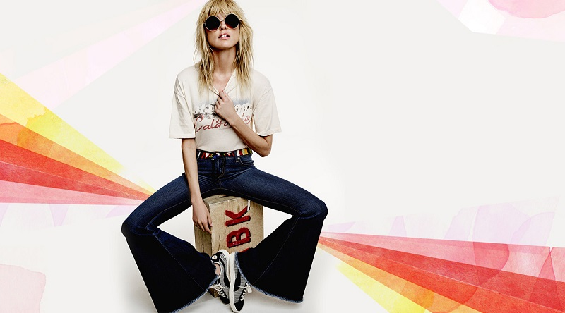 Free People Hollywood Graphic Tee