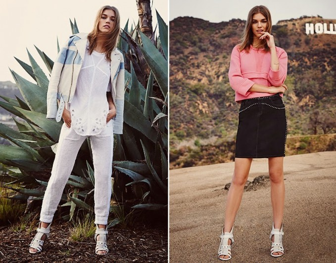 IRO Spring/Summer 2015 Lookbook by SHOPBOP
