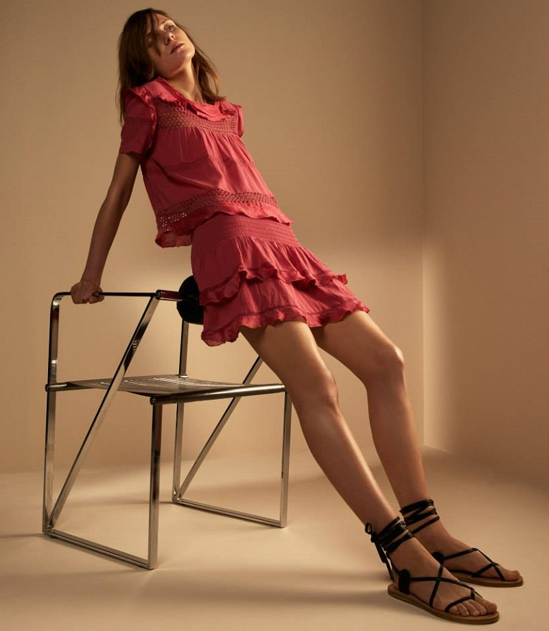 Isabel Marant Étoile Cole Short-Sleeve Top