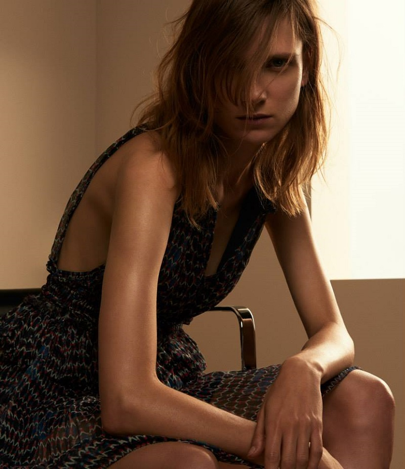 Isabel Marant Print Georgette Mila Dress
