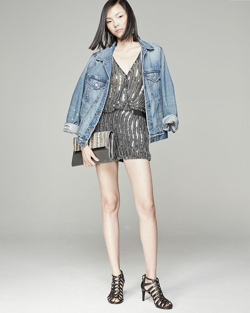 J Brand Jeans Darci Distressed Denim Jacket