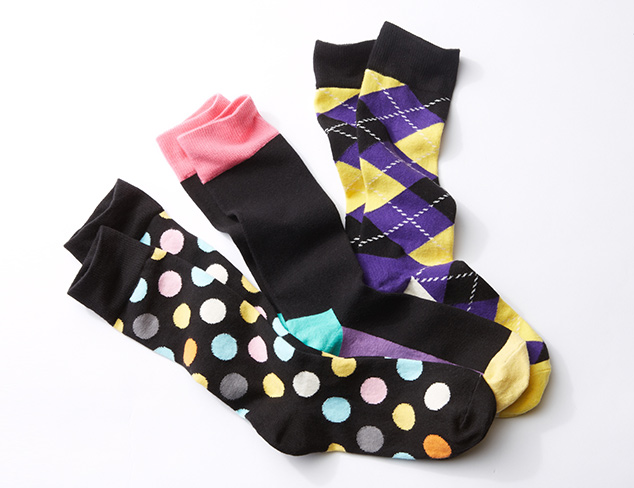 Just $19: Happy Socks at MYHABIT