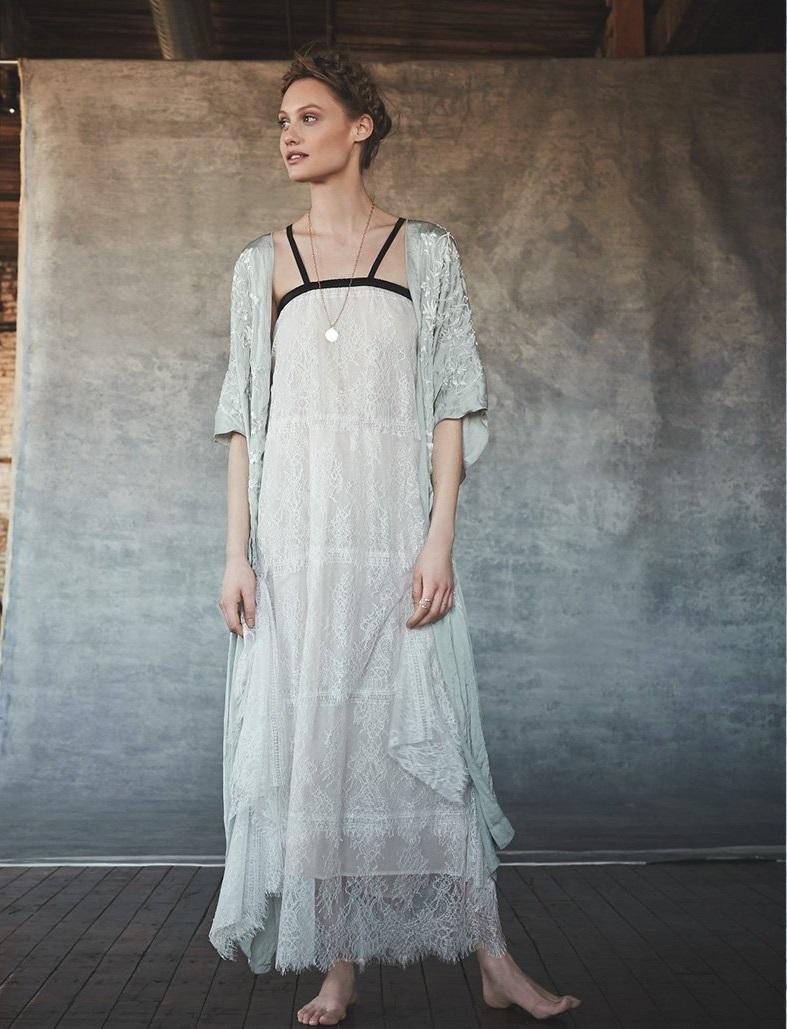 LoydFord Lace Maxi Dress