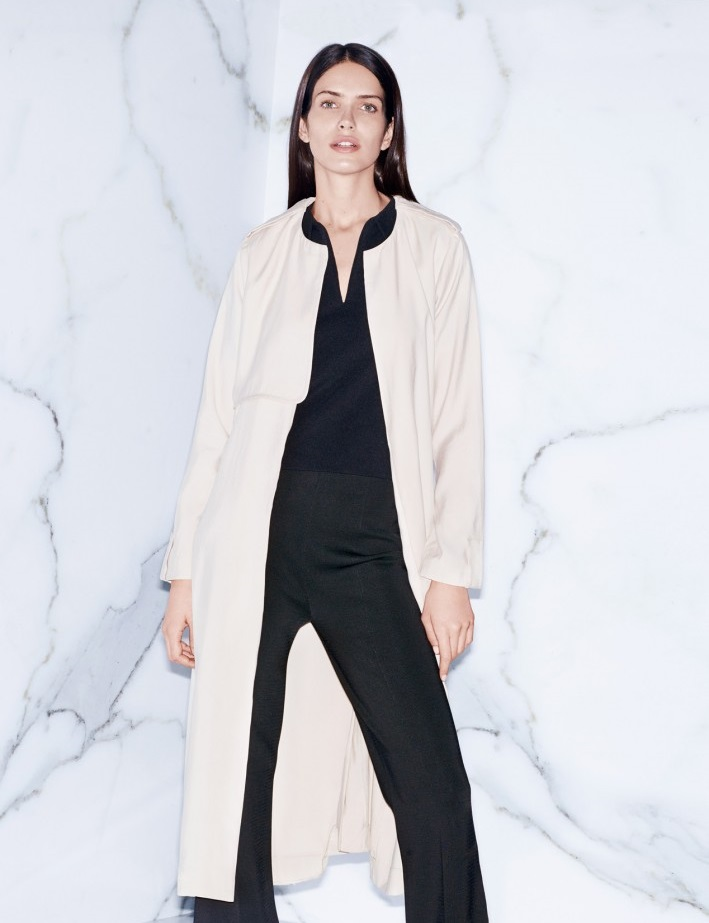 MANGO Long trench