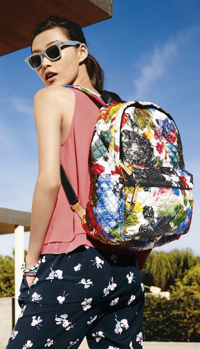 MZ Wallace Metro Quilted Oxford Nylon Backpack