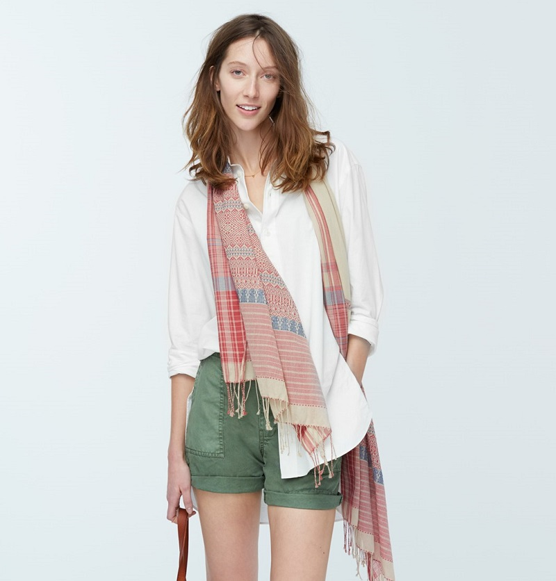 Madewell Oversized Button Front Tunic
