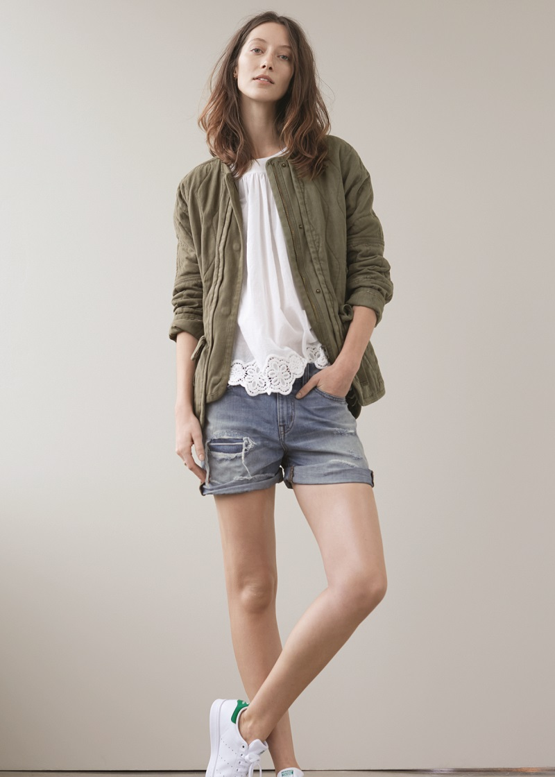 Madewell Quilted Cocoon Jacket