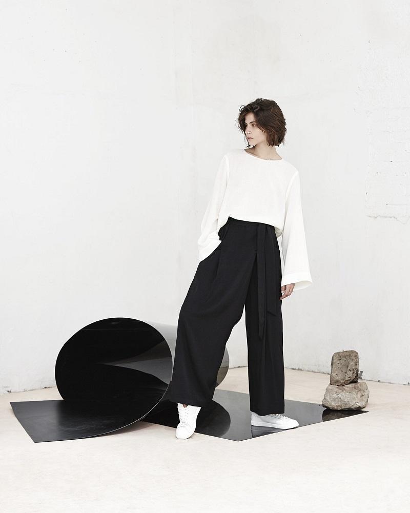 Mango PREMIUM - Ribbed fine-knit sweater_