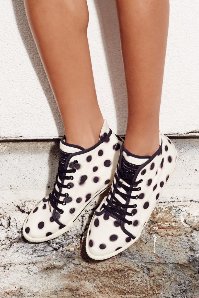 Marc by Marc Jacobs Print High Top Sneaker