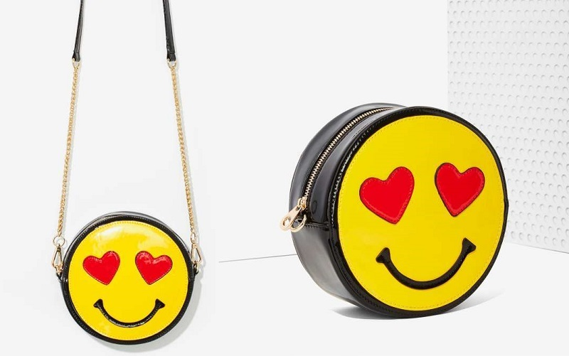 Nasty Gal x Nila Anthony Emojinal Crossbody Bag
