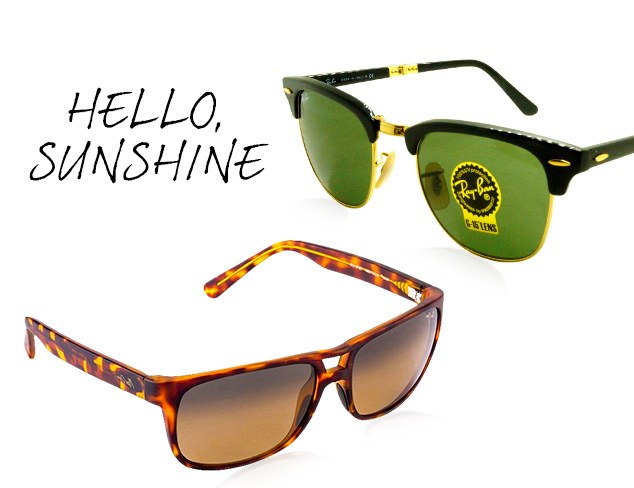 New Arrivals: Sunglasses feat. Ray-Ban at MYHABIT