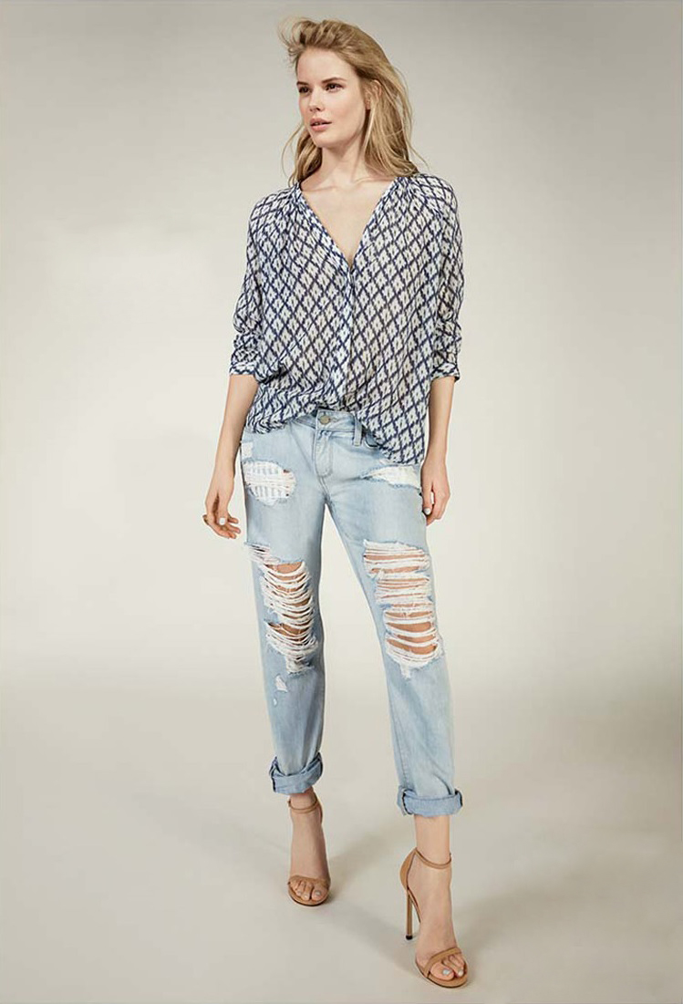 Paige Premium Jimmy Jimmy-Boyfriend Skinny Jeans
