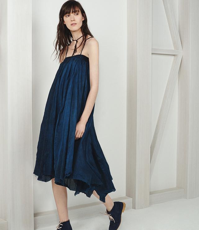 Pas de Calais Wrap-Around Style Maxi Skirt