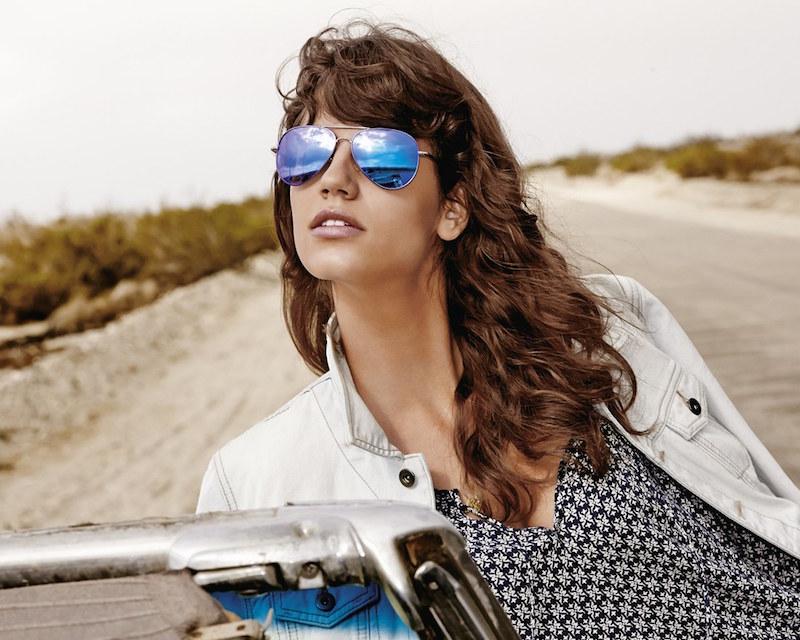 Polaroid Eyewear 58mm Polarized Aviator Sunglasses