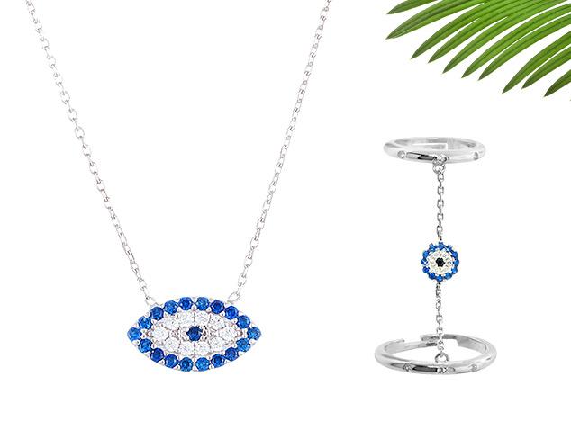 Positive Vibes: Hamsa & Evil Eye Jewelry at MYHABIT