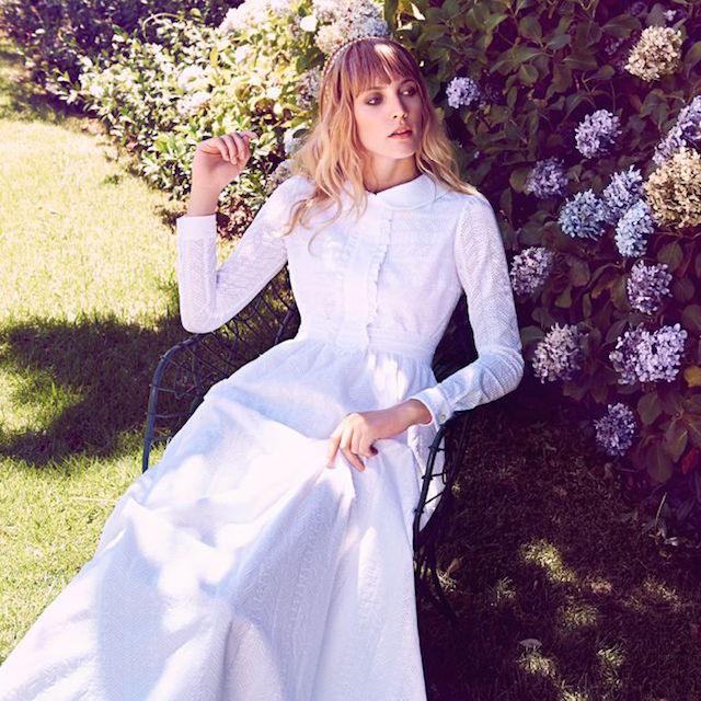 Saint Laurent Cotton Maxi Dress