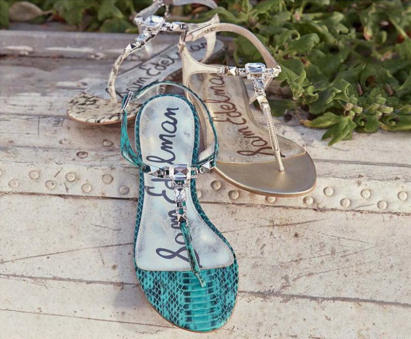Sam Edelman Dawn Embellished Leather Sandal