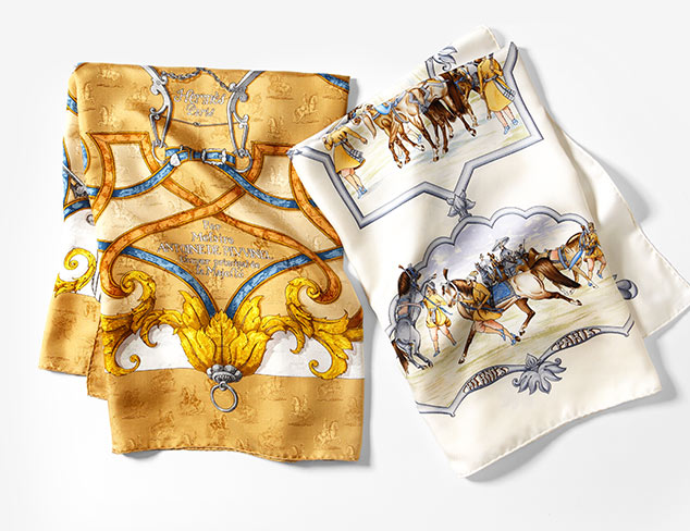 Silk Scarves: Roberto Cavalli, Hermés & More at MYHABIT