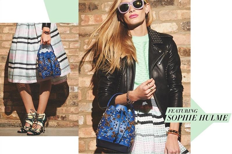 Sophie Hulme Embellished Drawstring Bucket Bag