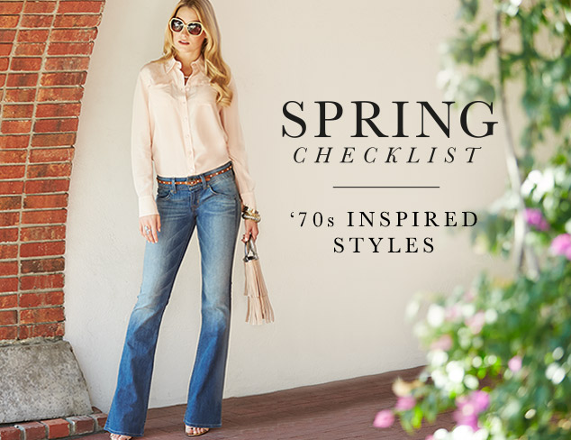 Spring Checklist: '70s-Inspired Styles at MYHABIT