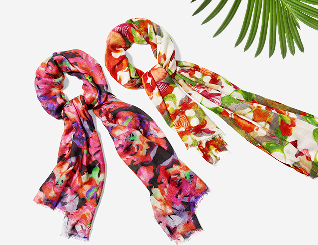 Spring Scarves: Bindya & More at MYHABIT
