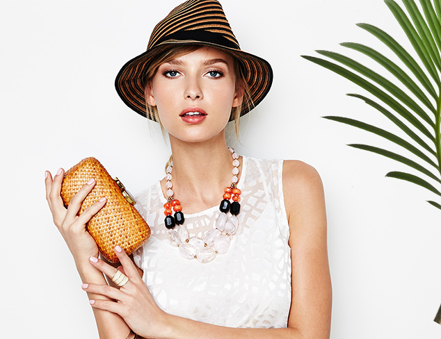 Spring's Most Wanted: Straw Accessories at MYHABIT