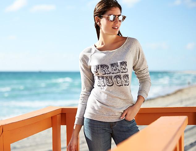 Sweatshirts, Graphic Tees & Skinny Jeans at MYHABIT