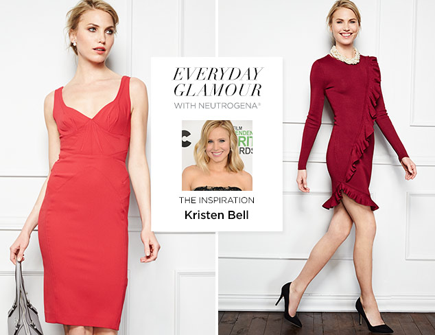 The Sophisticate: Inspired by Kristen Bell at MYHABIT