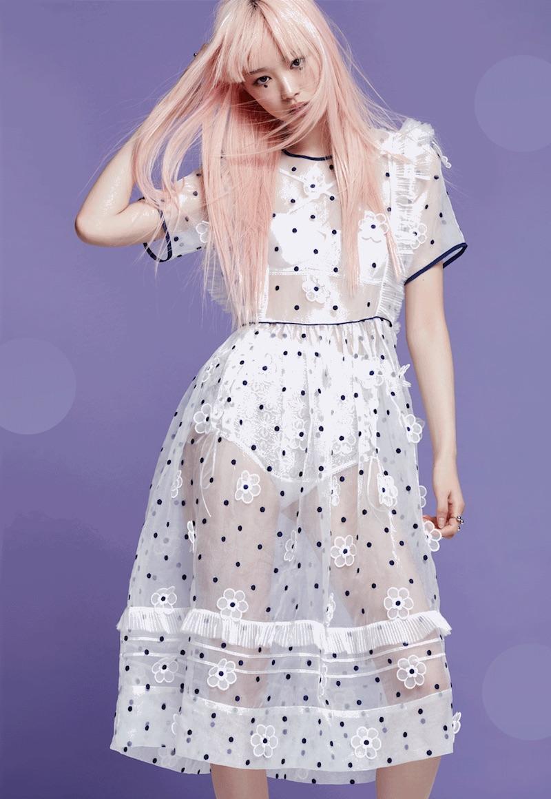 To Be Adored Daisy Silk Dress