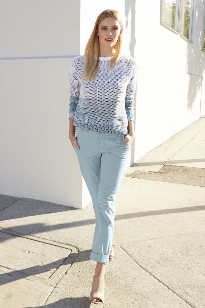 Vince Sweater & Boyfriend Trousers